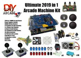 Diy Mame Cabinet Kit by Kit Comes With Nearly Everything You Need To Build Your Own Arcade