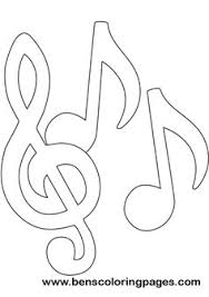 Music Notes Coloring Book