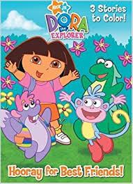 Dora The Explorer Deluxe Coloring Book
