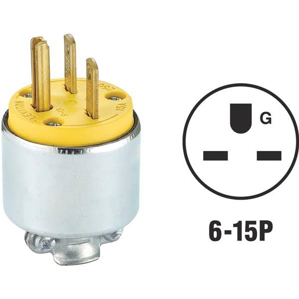 Leviton Armored Grounding Plug
