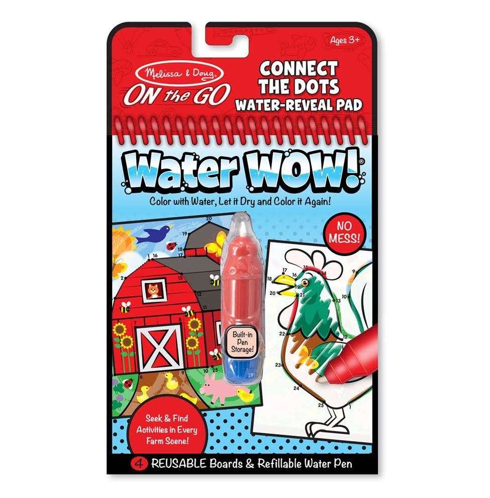 Melissa & Doug On The Go Connect the Dots Water-Reveal Pad: Water Wow!