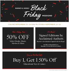 Barnes & Noble Black Friday 2017 Simple Coupon Deals