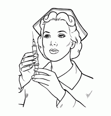 Nice Nurse Coloring Pages Cool Book Gallery Ideas