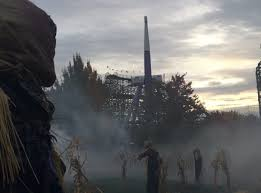 Halloween Theme Park Texas by Silverwood Theme Park In Idaho Turns Into A Scary Halloween