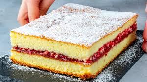 der einfachste marmelade kuchen ist luftig entdeckung aus omas notizbuch schmackhaft tv