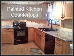 kitchen countertop paint