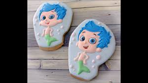 Bubble Guppies Bathroom Decor by Gil From Bubble Guppies Cookies By Emma U0027s Sweets Youtube