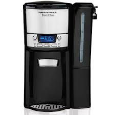 BrewStationR 12 Cup Coffee Maker With Removable Reservoir Black Stainless 47900