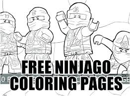 Lego Ninjago Ninja Coloring Pages Green Page H M Squared Fractions On