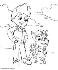 Paw Patrol Coloring Pages 22 Ryder Page