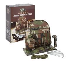 Army Camo Bathroom Set by Amazon Com Kids Army Camouflage Junior Survival Pack Kids