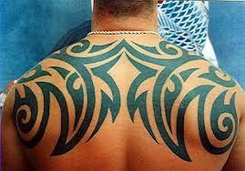 Cool Shoulder Blade Tattoos For Guys