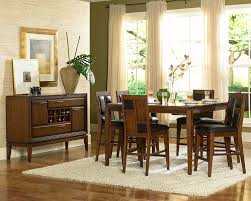 Wonderful Dining Room Funiture Sets 6 Piece Design Ideas With Dark Wooden Expanding Table