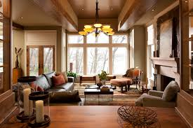 Rustic Modern Living Room Home Design Ideas Pictures View Larger