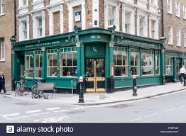 The Chiswell Street Dining Rooms In Th City Of London