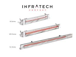 Infratech Heat Lamp Bulb by Electric Patio Heaters Infrared Portable U0026 Wall Mount Outdoor Units
