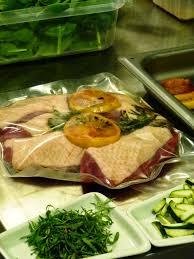 plat cuisin sous vide un peu dans les coings menu gastronomique sous vide chez aeg