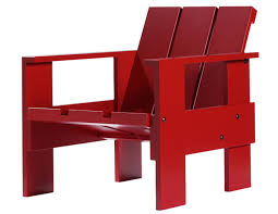 chaise rietveld rietveld crate chair