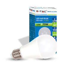 buy 12w a60 led bulb 75w equal 1055 lumens e27 base 75w equivalent