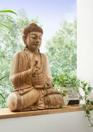 faktorei unikat deko figur buddha handgearbeitet