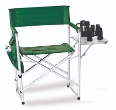 Portable Directors Chair by Portable Folding Chair With Side Table And Accessory Bag