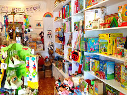 Vintage Toy Store Front