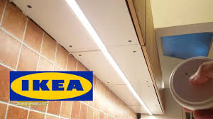 how to install ikea kitchen lighting omlopp learn net