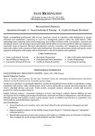 Manager Career Change Resume Example