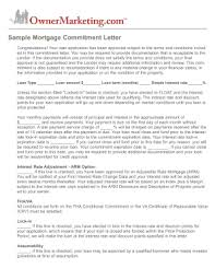 Mortgage Letter Templates Forms Fillable & Printable Samples for