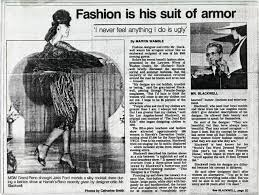 Jakki Ford Blackwell Fashion Article In The Las Vegas Sun