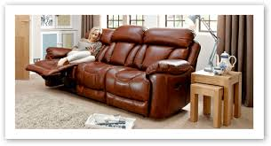 Recliner Sofas In Fabric & Leather Designs