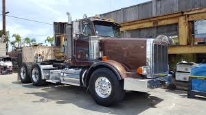 100 Tri Axle Heavy Haul Trucks For Sale 1996 Peterbilt 378 Daycab Truck S Long Beach Los