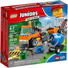 100 Lego Cement Truck LEGO Juniors Road Repair Set 10750 ToyWiz