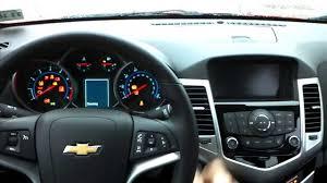 Brand new 2014 Chevrolet Cruze LT start up from inside