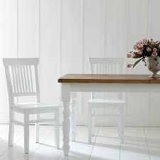 stuhl landhaus massivholz in weiß weiße stühle bei möbelhaus hamburg