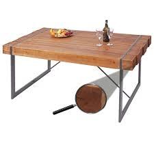 esszimmertisch hwc a15 esstisch tisch tanne holz rustikal massiv braun 80x160x90cm