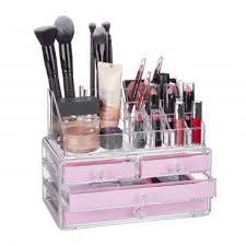 make up organizer kosmetik aufbewahrung badezimmer wohnen