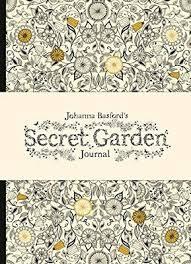 Johanna Basfords Secret Garden Journal By Johanna Basford