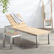 macon 2 teak outdoor chaise lounge chair set whitewash