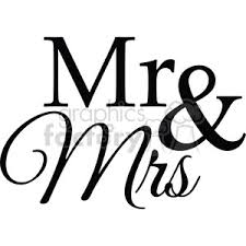 Royalty Free Mr And Mrs 394862 Vector Clip Art Image
