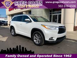 100 2014 Cars And Trucks Used For Sale Louisville KY 40213 Greg Coats