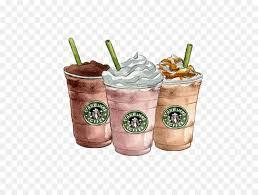 Starbucks Clipart Caramel Frappuccino