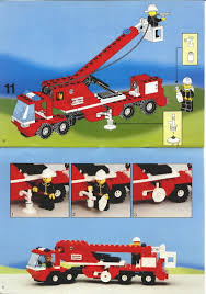 100 Lego Fire Truck Instructions LEGO Snorkel Squad 6358 Rescue