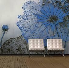 wandblumenwandbild für wohnzimmer blumentapete wandbild