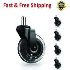 Replacement Office Chair Caster Wheels 3 In Roller Blade 5 Set Black ... 5pcs 40kgscrewuniversal Mute Wheel 2 Replacement Office Chair Naierdi 5pcs Caster Wheels 3 Inch Swivel Rubber Best Casters For Chairs Heavy Duty Safe For Use Probably Perfect Of The Glider Youtube Universal Office Chairs Nylon 5 Set Agptek With Screwdriver Roller Lounge Cheap Rolling Modern No 2pcs Replacing Part Twin Rotate Amazoncom Rolland Oem Stem Uxcell Black Fixed Type