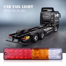 Aliexpress.com : Buy 2pcs 12V Waterproof 20leds ATV Trailer Truck ... Amazoncom Driver And Passenger Taillights Tail Lamps Replacement Home Custom Smoked Lights Southern Cali Shipping Worldwide I Hear Adding Corvette Tail Lights To Your Trucks Bumper Adds 75hp 2pcs 12v Waterproof 20leds Trailer Truck Led Light Lamp Car Forti Usa 36 Leds Van Indicator Reverse Round 4 Braketurntail 3 Panel Jim Carter Parts Brake Led Styling Red 2x Rear 5 Functions Ultra Thin Design For Rear Tail Lights Lamp Truck Trailer Camper Horsebox Caravan Volvo Semi Best Resource