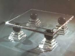 luxus design wohnzimmertisch marmor acryl plexi glas