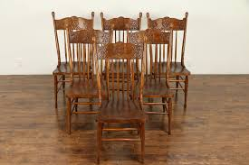 Set Of 6 Victorian Antique Press Back Carved Oak Dining Chairs #30884 Press Back 5 Piece Ding Set Pressback Table And Chairs Redo Originally A Light Oak Set From The Sold Vintage Pressed In As Old White Daisys Doo Dahs Fniture Chairs Stone Barn Antique Oak Ding Table With 1 Leaf 4 Modern Pressback Chairs Nostalgia Traditional Double Pressback Side Chair Colantonio Chair Makeover Larkin Wikipedia Buttonwood Countryside Amish Five Christopher Columbus Press Back 1893 Chicago Worlds Fair Victorian Of 6 Antique Carved Elm Oak 31285