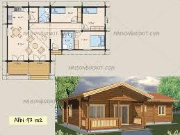 chalet en kit habitable prix plan gratuit de chalet en bois en kit et plan de maison bois