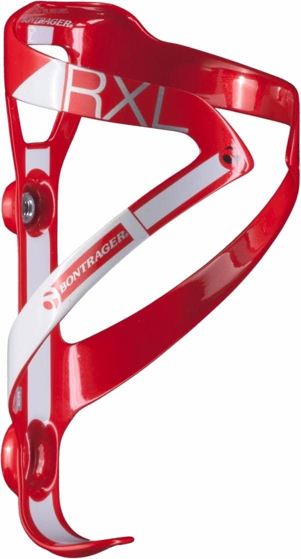 Bontrager RXL Carbon Fiber Bicycle Water Bottle Cage - Red